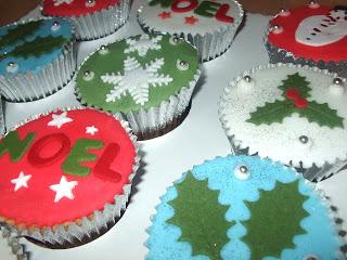 Christmas Cupcakes and S&G.. ♥
