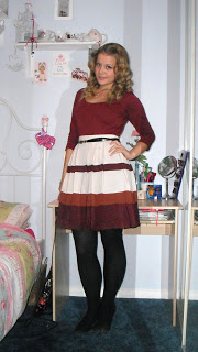 OOTD 16/12/11 – Granny Skirt? Yay or Nay? ♥