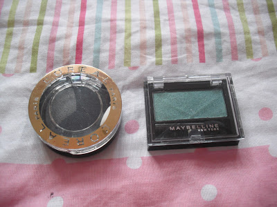 My 50p Maybelline and L'oreal Boots Bargain Eyeshadows.. ♥
