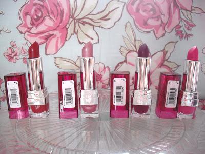 New Range of Miners Lipsticks.. ♥