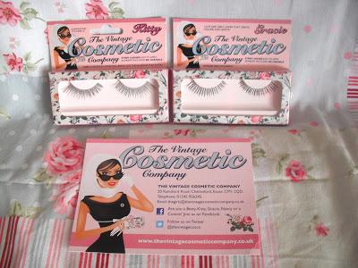 False Eyelashes by The Vintage Cosmetic Company.. ♥