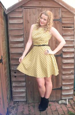 Louche Polka Dot Dress from Kikis Boutique.. ♥