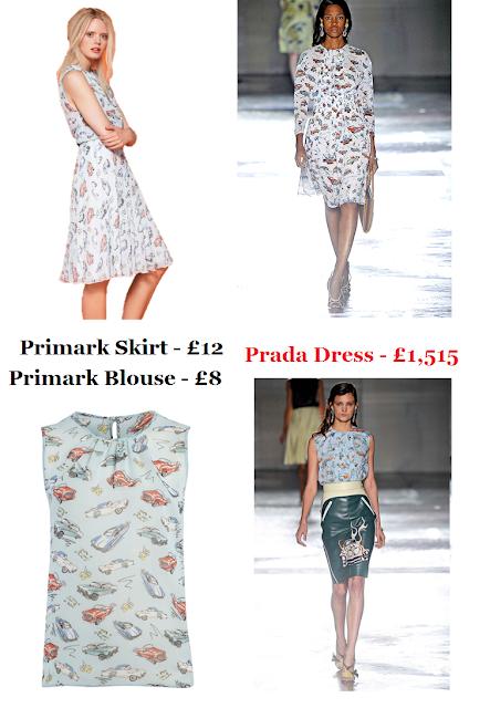Spring/Summer 2012: Primark Vs. Prada.. ♥