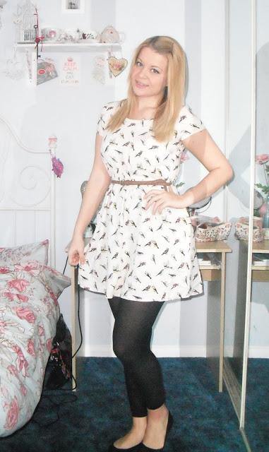 OOTD 28/03/12 – Tweet Tweet Birdy Dress.. ♥