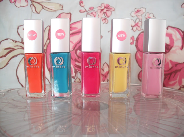 Miners Spring/Summer Nail Collection.. ♥