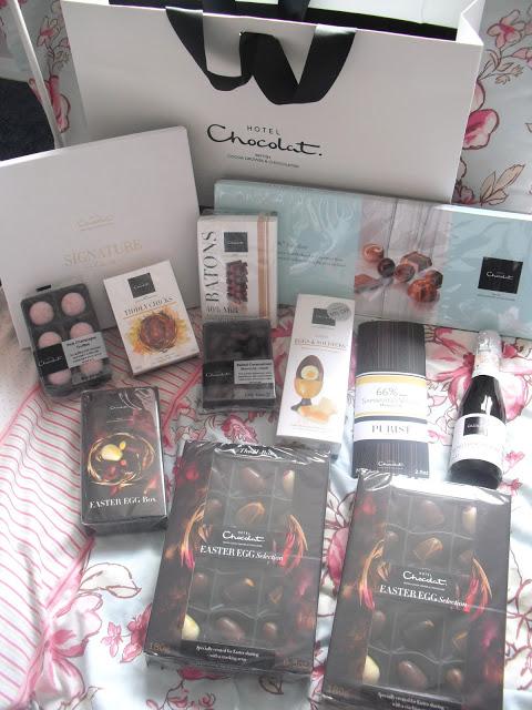 Huge Hotel Chocolat Hamper Prize + Easter Bakes.. ♥