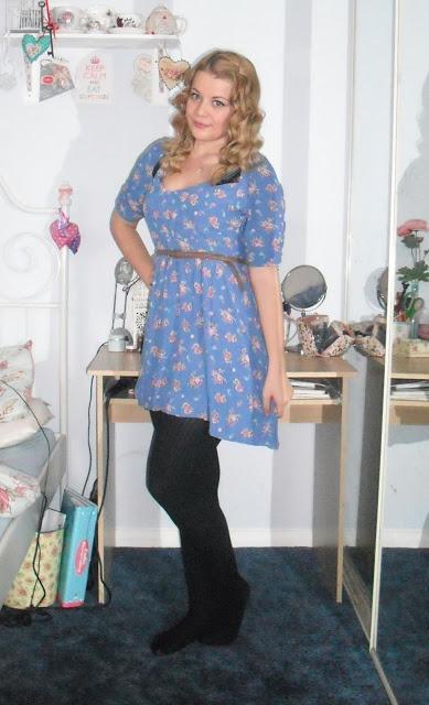 OOTD 29/04/12 – Floral Tea Dress.. ♥
