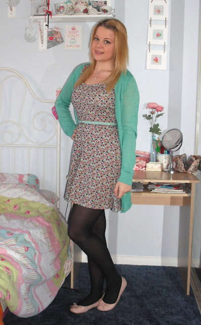 OOTD 16/05/12 – Minty Florals.. ♥