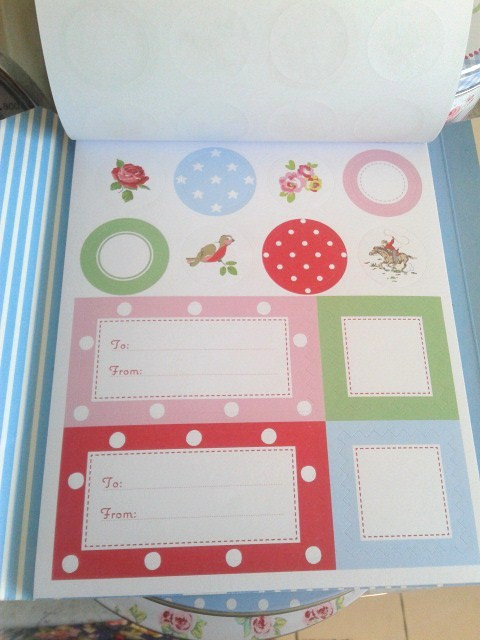 Cath Kidston Book of Stickers.. ♥