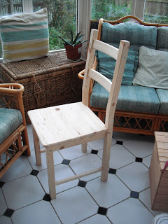 DIY Ikea Chair.. ♥