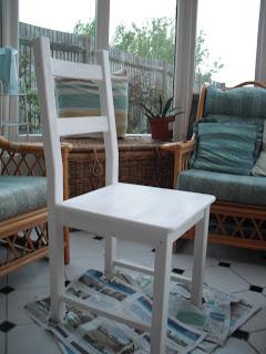 DIY Ikea Chair.. ♥