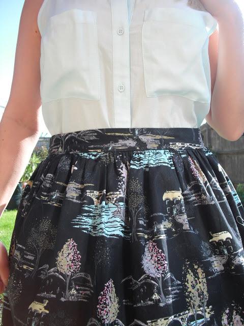 OOTD 25/05/12 – Summer Blouse & Skirt .. ♥