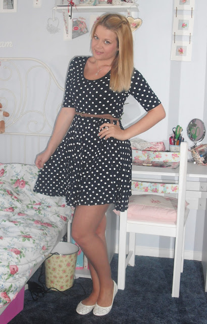 OOTD 20/6/12 – Spotty Dress & Shoe Zone Shoes.. ♥