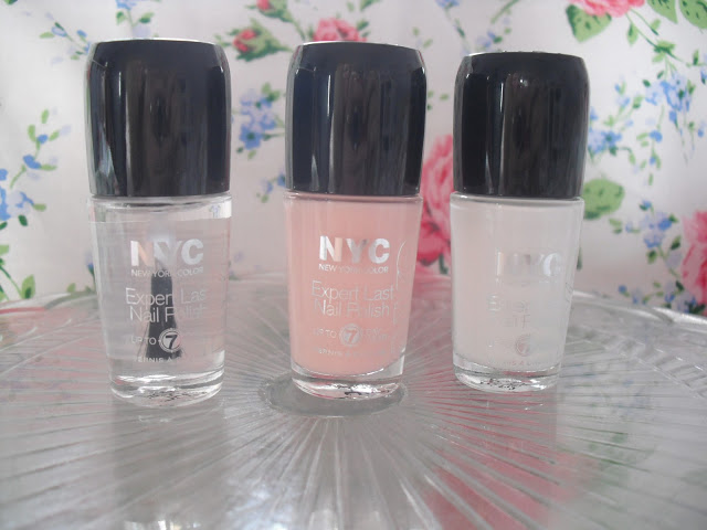 DIY French Manicure using NYC.. ♥