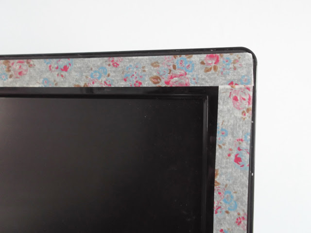 Mini DIY Job – Cath Kidston Floral Edged TV.. ♥
