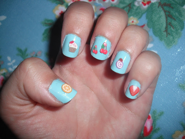 Fruity Summer Nail Art ♥