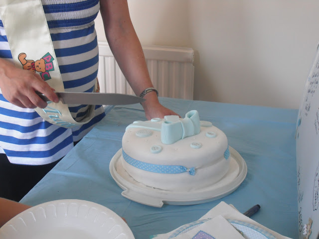 My Sisters Baby Shower – Cake + DIY Gift ♥