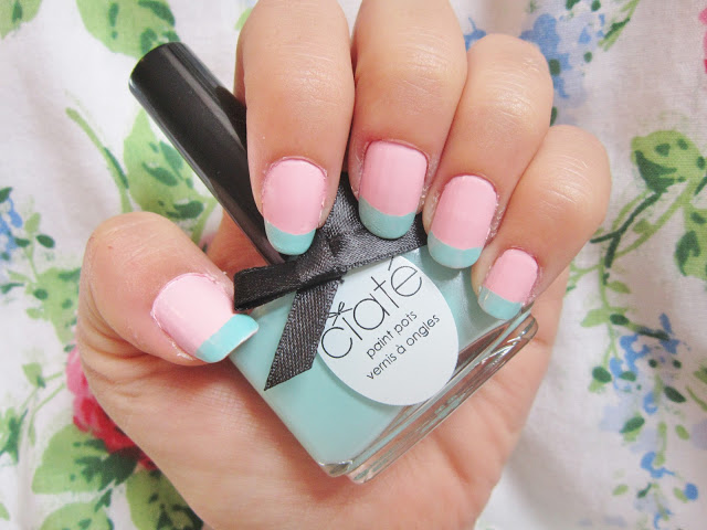 Nail of the Week – Ciate Pepperminty Tips ♥