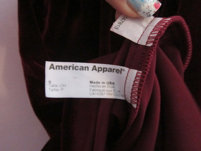 Car Boot Sale Buys – American Apparel + Vintage China ♥