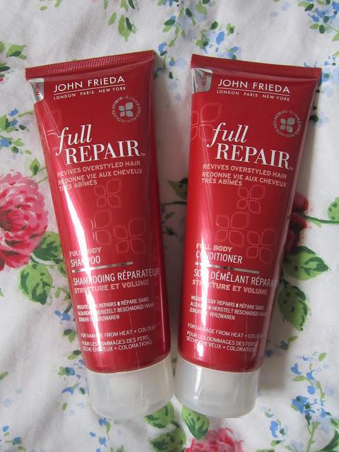John Frieda Full Repair Shampoo & Conditioner ♥