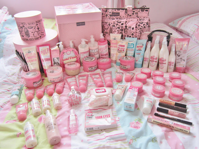 Secret Obsession – My Big Soap & Glory Collection ♥