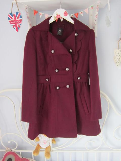 My New Primark Winter Coat + Tartan Scarf ♥