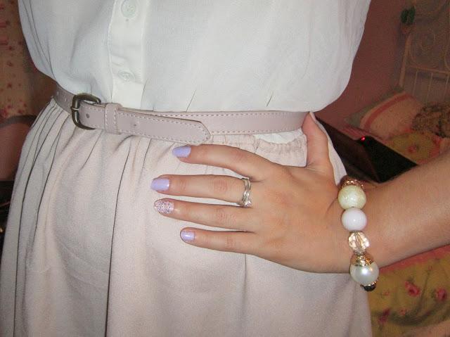 Daisy Street Beaded Collar Dress OOTN ♥
