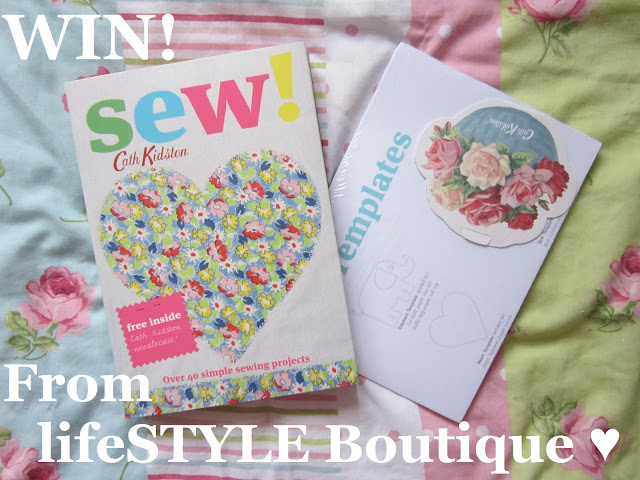 GIVEAWAY: Win Cath Kidston SEW! Book from LifeSTYLE Boutique ♥