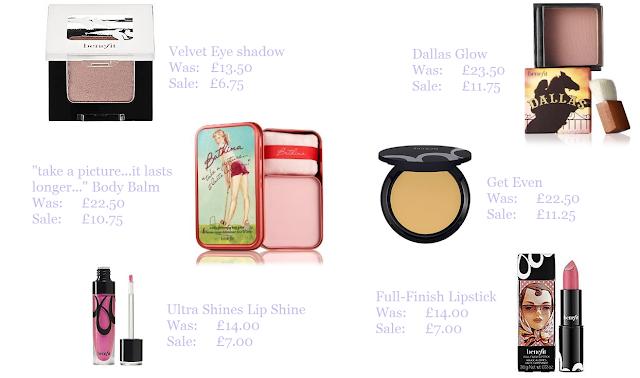 Half Price Genuine Benefit Cosmetics + FREE Delivery ♥