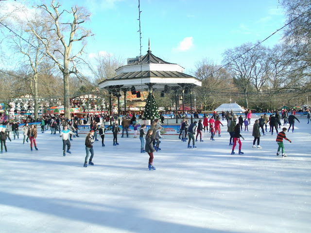 Ice Skating at Winter Wonderland – Hyde Park, London ♥