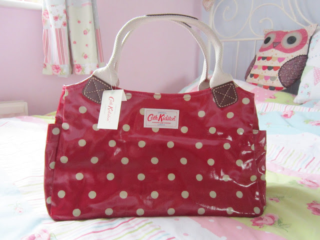 My New Cath Kidston Spot Berry Day Bag ♥