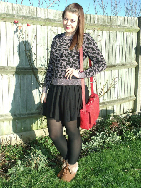 Sparkly Cat Jumper Outfit of the Day ♥