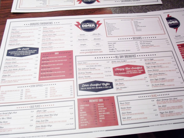 Spontaneous Evening & Dinner at The Diner in London ♥