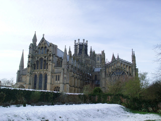 Snowy Day Out in Ely ♥