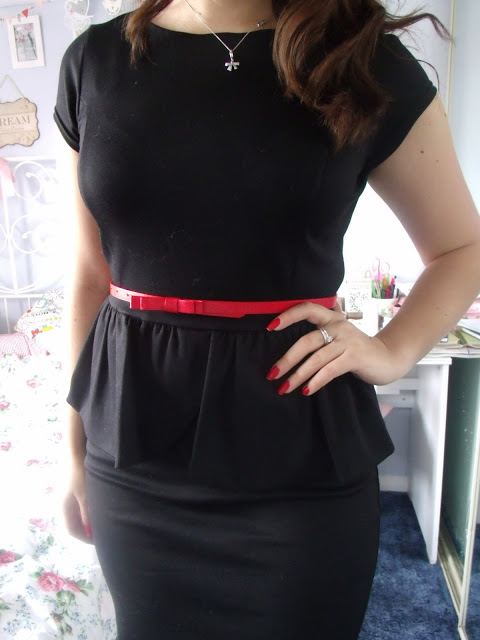 Interview Outfit of the Day feat. Matalan Peplum Dress ♥