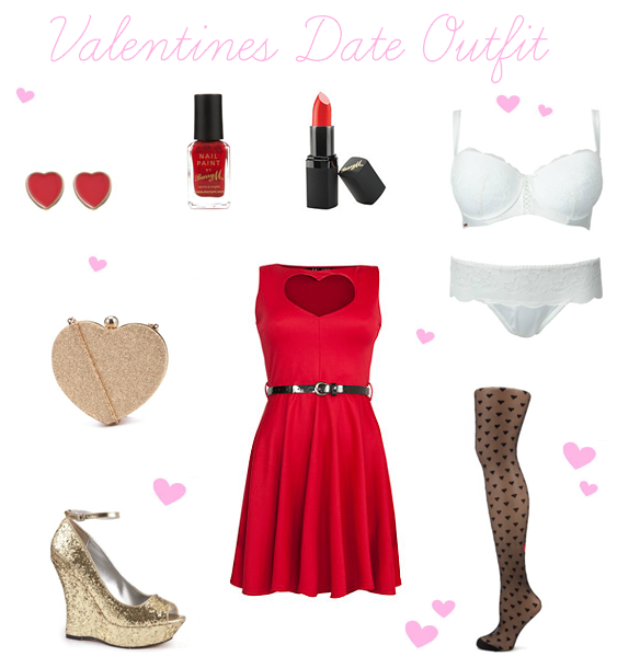 Valentines Day Outfit Wishlist ♥