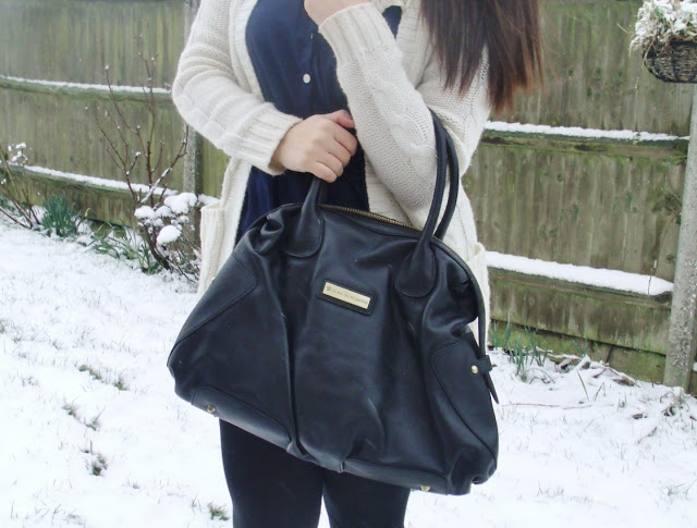 Dark Olive Green Leather Handbag ♥