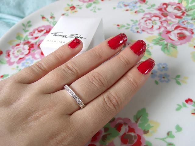 Thomas Sabo Silver and Zirconia Set Ring ♥