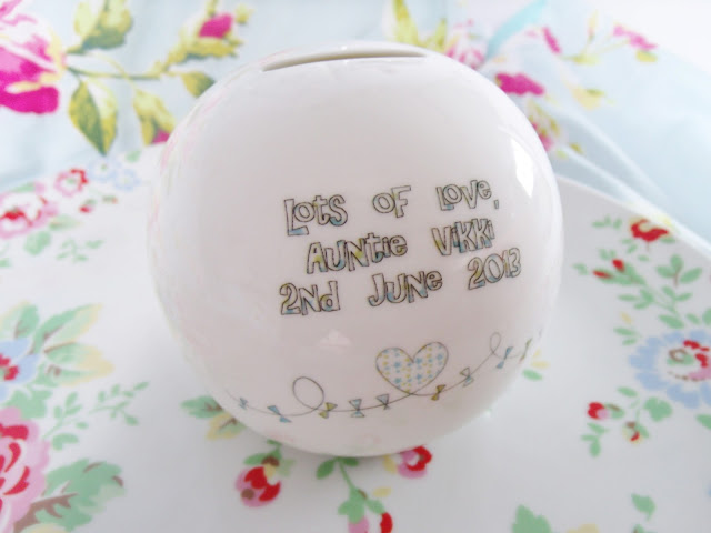 My Baby Nephews Christening – Sunshine, Cake & Personalised Gift ♥