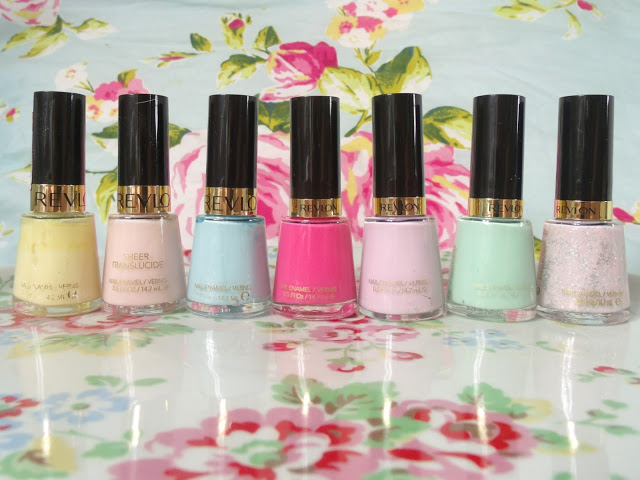 Poundland Revlon Nail Polishes ♥