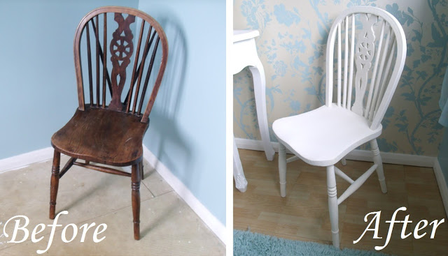 DIY Antique Chair & Crafty Creatives Box ♥