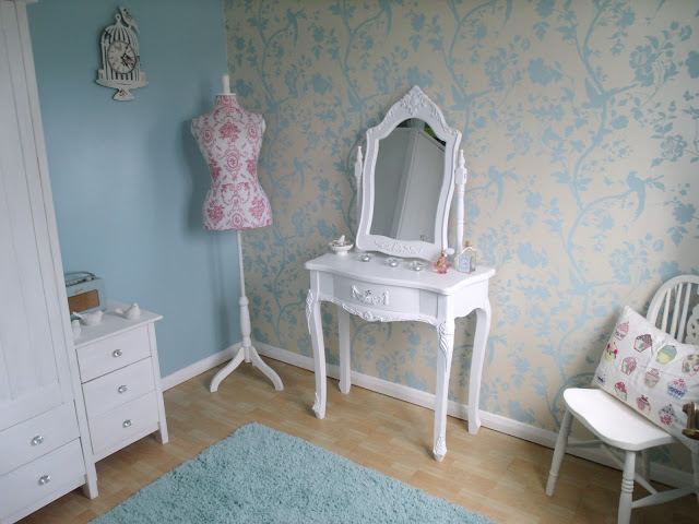 It's finished! My new Dressing Room.. ♥