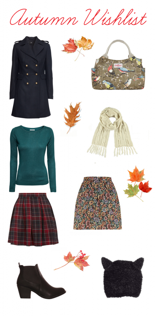 Autumn Fashion Wishlist ♥
