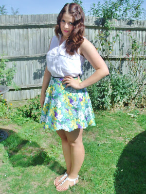 Lashes of London Floral Skirt ♥