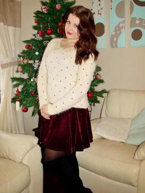 Velvet & Sequins: Boxing Day OOTD ♥