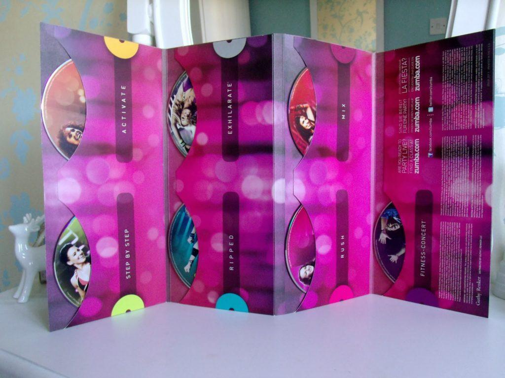 Zumba Exhilarate DVD Fitness Pack ♥