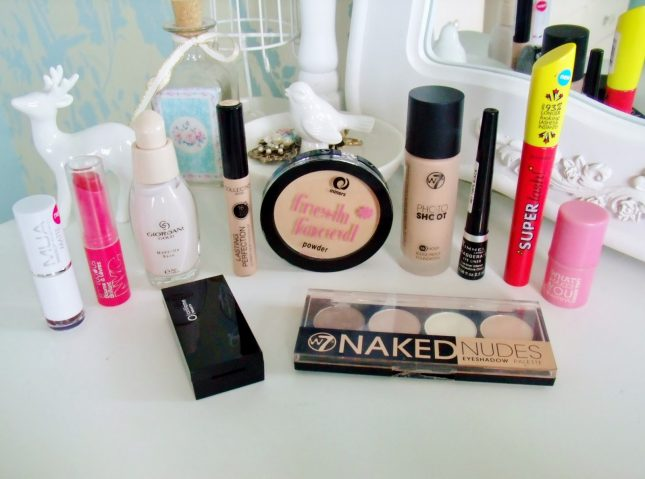 My Everyday Make Up Products – Under £8 each ♥