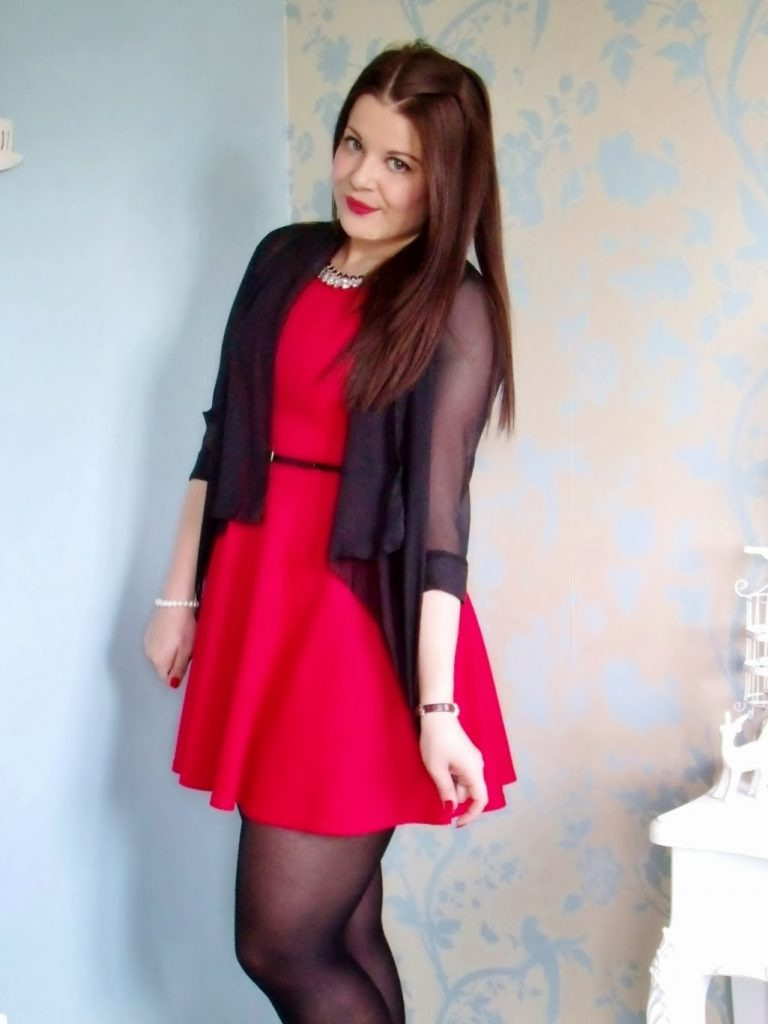 Quiz Dress Valentines OOTD ♥