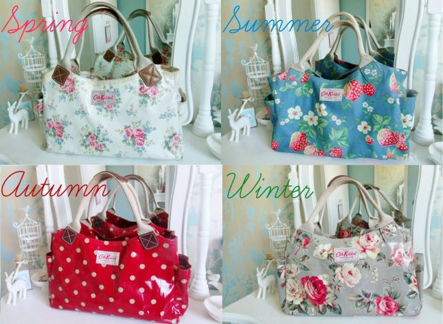 Four Seasons of Cath Kidston Day Bags ♥