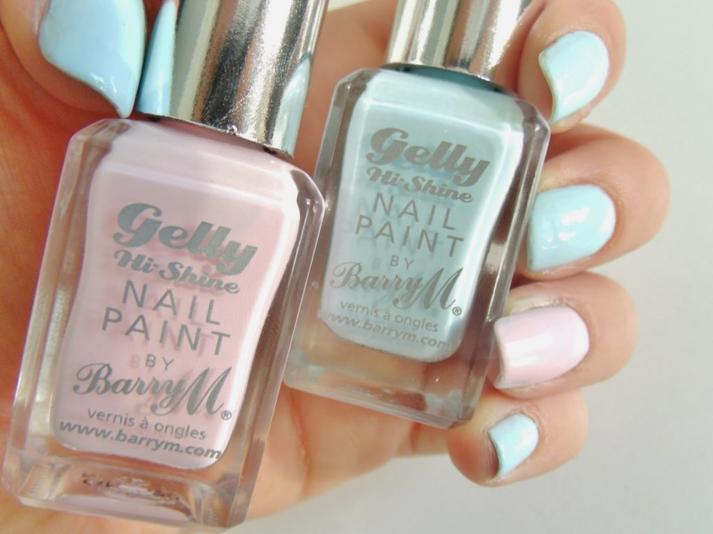 Barry M Pastel Gelly Nails ♥